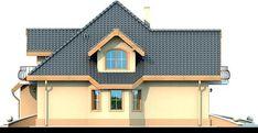 DOM.PL™ - Projekt domu DN Magnolia CE - DOM PC1-20 - gotowy koszt budowy Beautiful Small Homes, Bungalow House Plans, Micro House, Home Fashion, Magnolia, Building A House, Villa, 1, House Design