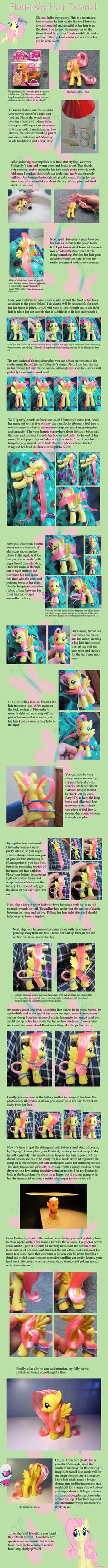 Fluttershy Hair Tutorial by ~countschlick on deviantART