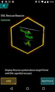 ENL Rescue Beacon