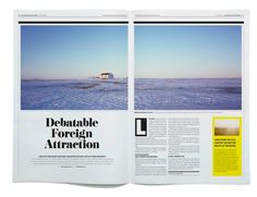 Iceland Review Street Edition by Kristin Agnarsdottir, via Behance