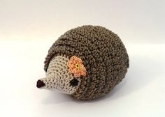 Hedgehog family amigurumi PDF crochet pattern by AmigurumiBarmy