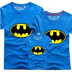 d03877845 AD 1pcs Batman family matching clothes mommy and me mother daughter father  son matching clothes Matching
