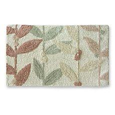 Image Of Lacey Brown Large Flower Bath Rug Bathroom Ideas - Multi colored bath rugs for bathroom decorating ideas