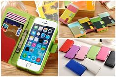 Fun iPhone 6 Phone Wallets-  These Fun iPhone Wallets are a great way to store and carry your iPhone around.