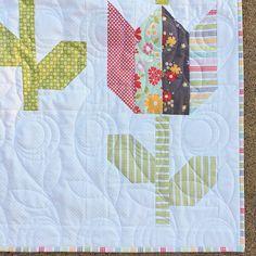 Tulip Market PAPER Quilt Pattern 119
