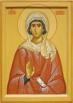 Mariamne the Apostle & sister of St. Philip by Vitaly Preobrazhensky Orthodox Christianity, Orthodox Icons, Religious Art, Byzantine, Saints, Sisters, Spirituality, Princess Zelda, Female