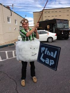 Tags: mario-kart Lakitu costume cosplay final-lap