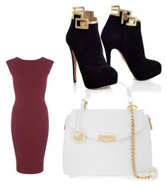 """""""Untitled #7"""" by deshawilliams025 ❤ liked on Polyvore featuring beauty, Miss Selfridge and Versace"""