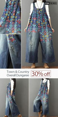 Town & Country Overall Dungarees Denim Bag, Denim Overalls, Ripped Denim, Dungarees, Men's Jeans, Sewing Aprons, Sewing Clothes, Diy Clothes, Jean Crafts