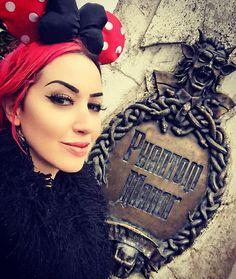 """"""" Phantom Manor at Disneyland Paris ashley"""