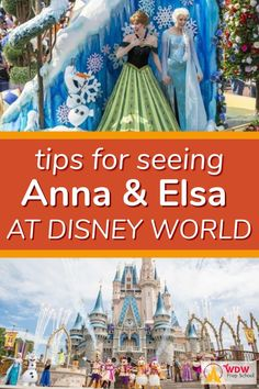 Tips for seeing Anna and Elsa at Disney World (and Olaf too!) Just when you thought the Frozen craz Disney World Games, Disney World Princess, Disney World Characters, Walt Disney World, Disney Vacation Planning, Disney World Planning, Disney World Vacation, Disney World Resorts, Disney Vacations