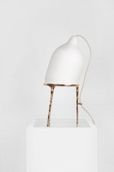 Table Lamps | Steel Droplet 14 34H