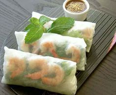 Vietnamese Spring Rolls - the one food dish I would choose to live on forever.