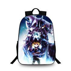 Yu gi oh silent swordsman backpack schoolbag for kid shoulder bag daypack 13