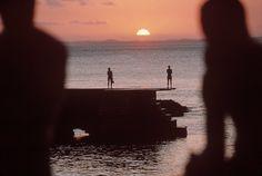 "unrar: ""  Brazil, Bahia State, Salvador. Beach scene 1996, A. Abbas. """