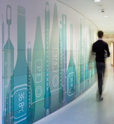 Royal College of Nursing wall graphics