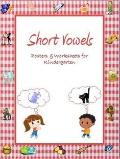 These worksheets & posters on short vowels are tailored for Kindergarten Kids. The word families dealt with are -ab , -ap, -an, -ag , -at, -eg, -en, -et, -ig, -in, -it, -og, -op, -ot, -ug, -un and -ut. Posters are provided for each of the above mentioned word families. All words are 3 letter ... Teach English To Kids, Teaching English, English Class, Printable English Worksheets, Vowel Worksheets, 3 Letter Words, Family Deal, Short Vowels, Word Families