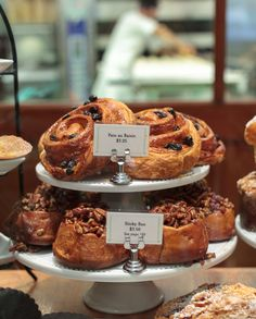 Morning pastries from Bouchon Bakery in Yountville, Napa