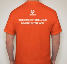 Unite Against Bullying Fundraiser - unisex shirt design - small - back