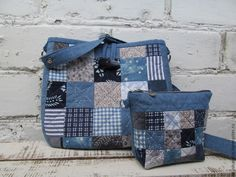 Simple Pretty Boro Style Bag Sew Tutorial. - Easy Step to Step DIY!