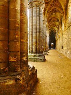 Kirkstall Abbey, taken by me Oct 2011