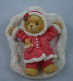 Carol / cherished teddy...making a  snow angel