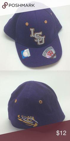 New LSU Tigers Collegiate Cub Hat 045422e0facc