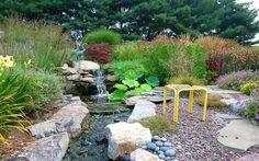 Water Feature Stream in your backyard idea