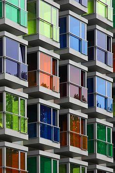 Formas y espacios - Colores. Fotografía por  Miriam Carrasco
