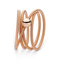 Niessing - Rose Gold Colette Ring -ORRO Contemporary Jewellery Glasgow