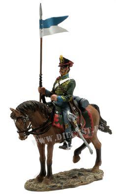 Trooper, Russian Pavlograd Hussars, 1812, 1:30, Del Prado