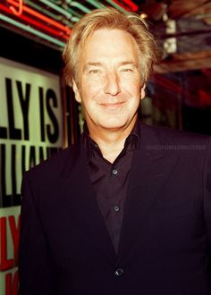 Alan at the billy elliot premiere,London, 2000