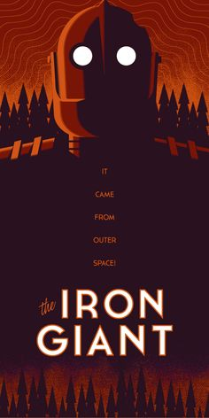 The Iron Giant by Stephen Hogan.