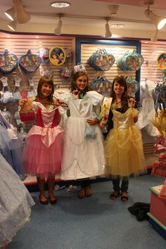 Pity that the dresses were too small :(