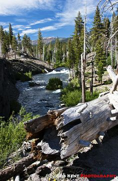 San Joaquin River in Reds Meadows, Devils Postpile National Monument, Madera, California by Bob Kent