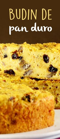 Esta deliciosa y fácil receta de budín hecho con los panes duros de la semana, será la mejor receta para aprovechar esos pedazos de pan que no nos comemos y que muchas desperdiciamos. ¡Te va a encantar este delicioso budín de pan duro!