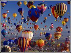 BALLOOOONS! Balloon festival in Albiquerquee.
