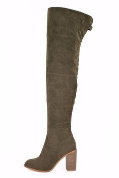 Karen OTK Boot Olive