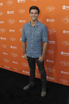 Brant Daugherty at the Hollywood Forever Cemetery to celebrate the Pretty Little Liars Halloween Special