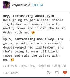 Reylo be like-