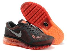 sports shoes 7c297 05723 Lastet Nike Air Max 2014 Mens Shoes Orange Red Dark Gray Cool Nike Shoes,  Nike