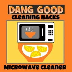 Halve or quarter some lemons and add to a bowl of tap water. Place in the Microwave for 10 minutes. Grained on dirt should then come loose. The added bonus is a nice smell in the kitchen too. Credit goes to https://naturehacks.com/clean-your-microwave-naturally/ for this tip.