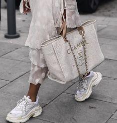 Balenciaga & Chanel #allwhite