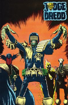 Dark Judges by Brian Bolland  Auction your comics on http://www.comicbazaar.co.uk