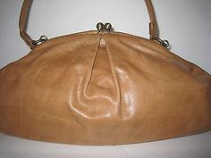 c9e053a9a96 Hobo International Bag Leather Purse Clutch Vintage Large in Clothing,  Shoes   Accessories   eBay