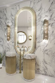 A luxury bathroom will get you halfway to a luxury home design. Today, we bring you our picks for the top bathroom decor ideas that merge exclusive bathroom Bathroom Design Luxury, Modern Bathroom, Small Bathroom, Luxury Bathrooms, Bathroom Ideas, Bathroom Pink, Bathroom Renovations, Boho Bathroom, Dream Bathrooms