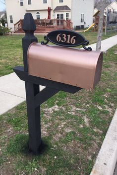 Copper Mailbox Makeover