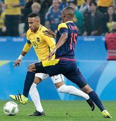 13.08.16 Brasil 2 x 0 Colômbia !! #Neymar #Neymarjr #SeleçãoBrasileira…