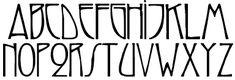 Znalezione obrazy dla zapytania art deco font