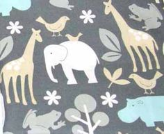 Cute fabric for kids room